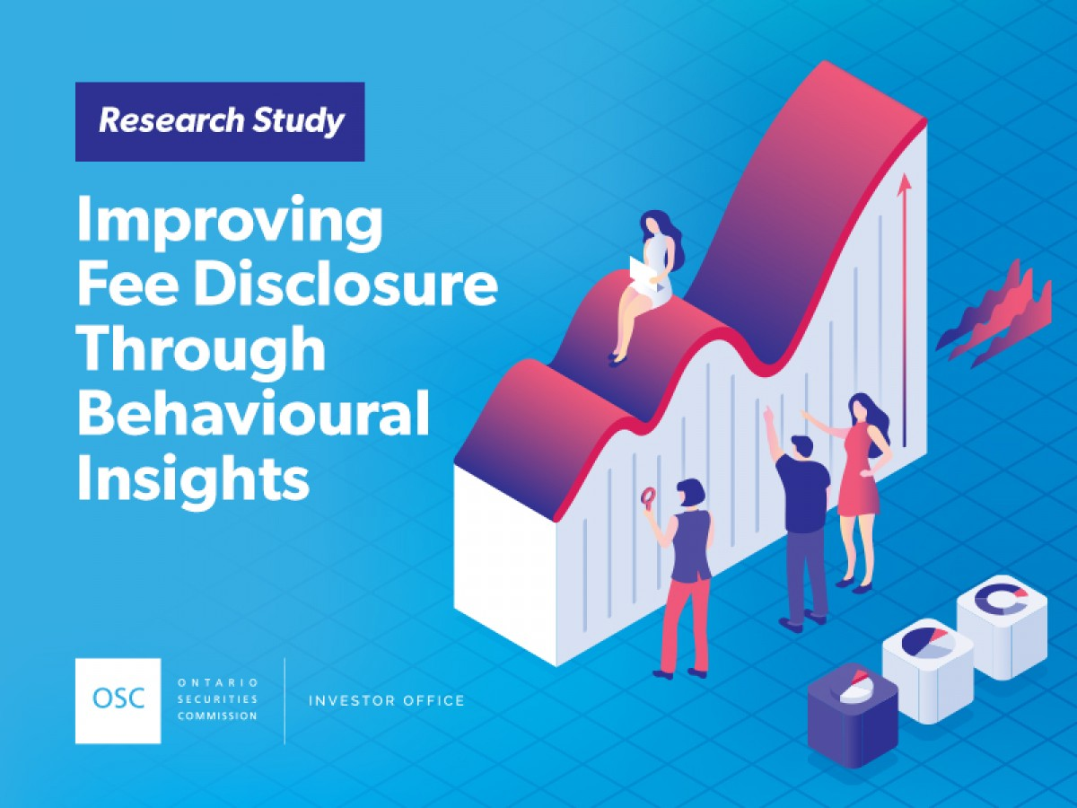 Improving Fee Disclosure through Behavioural Insights research study cover page