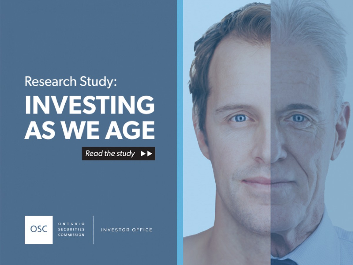 Investing As We Age research study cover page