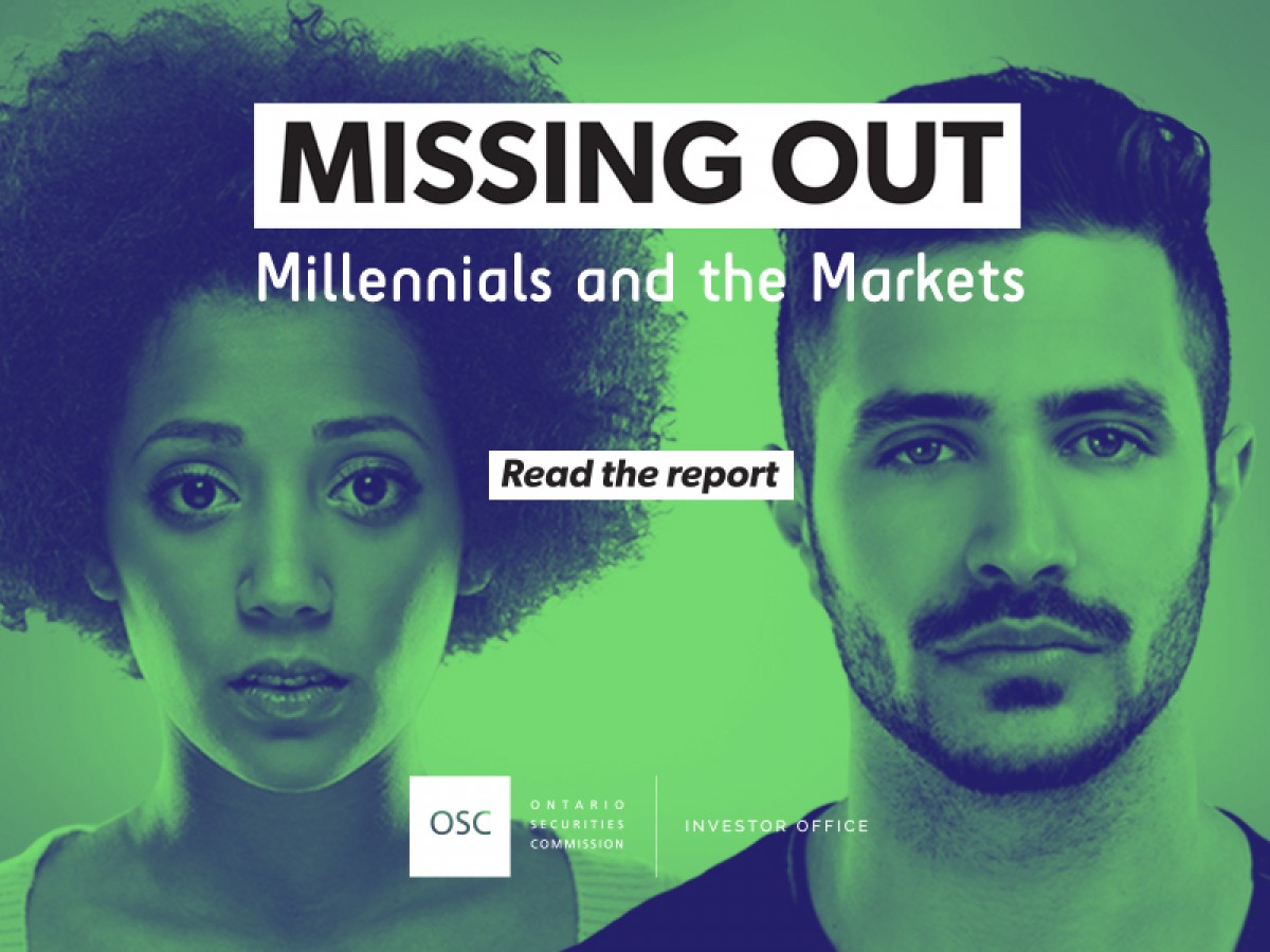 Missing Out: Millennials and the Markets research report cover page
