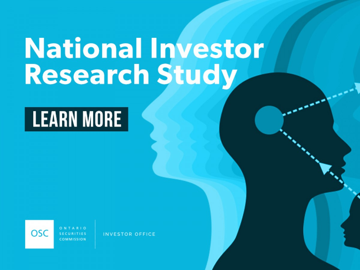 National Investor Research Study 2018 cover page