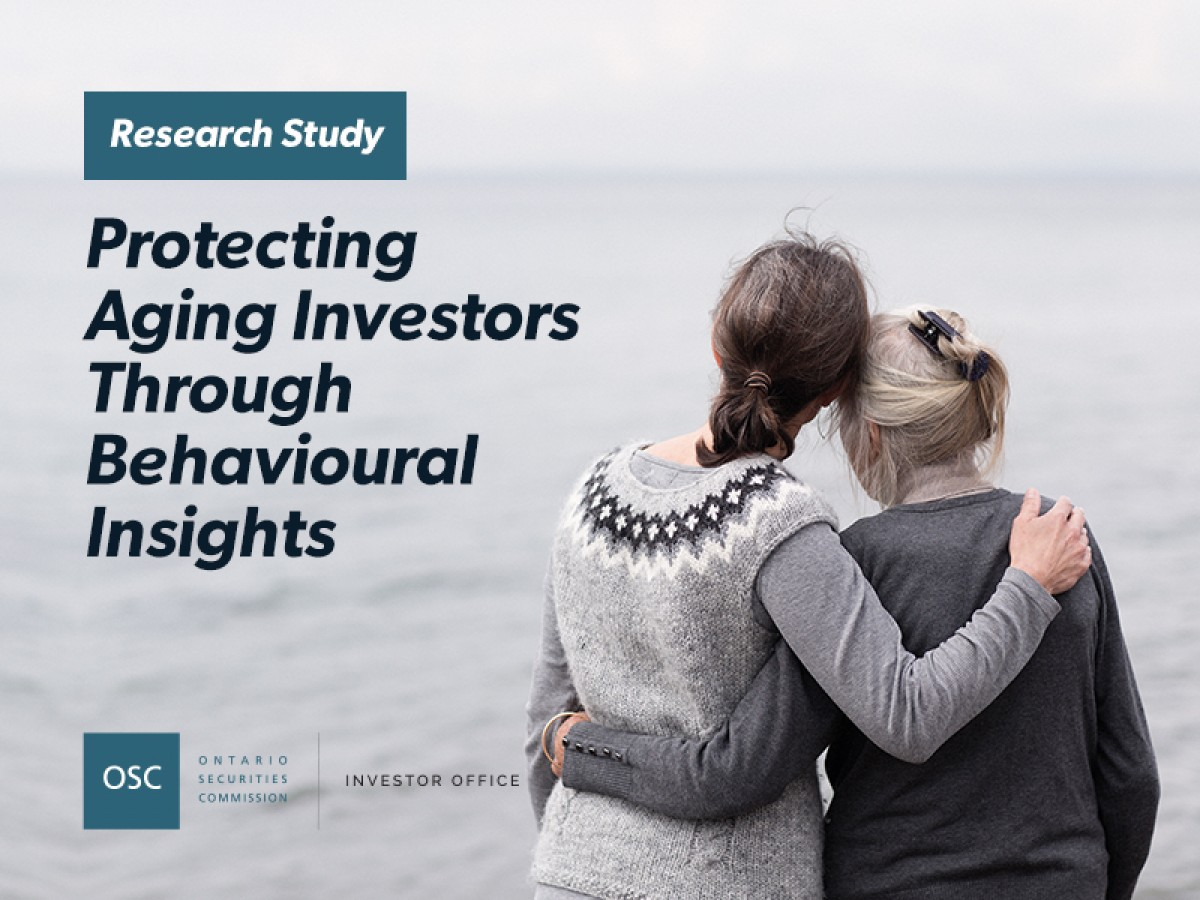 Report cover Protecting aging investors through behavioural insights