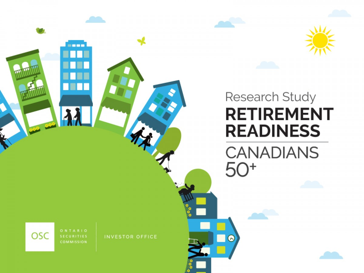 Retirement Readiness: Canadians 50+ report cover page