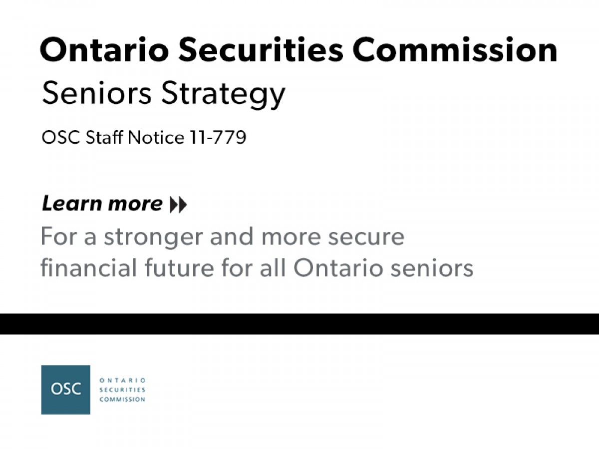 OSC Seniors Strategy report cover page