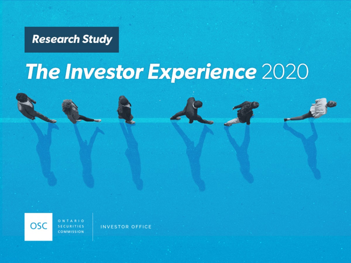 The Investor Experience research study cover page