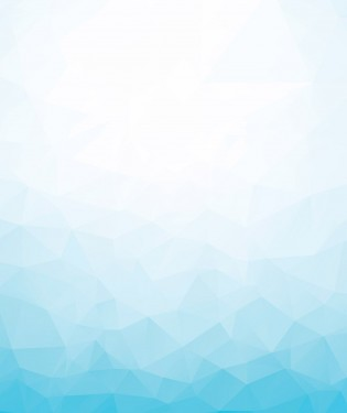 Geometric blue background