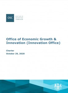 Cover image of Office of Economic Growth and Innovation Charter